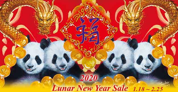 2020 Lunar New Year Sale 1.18 ~ 2.25