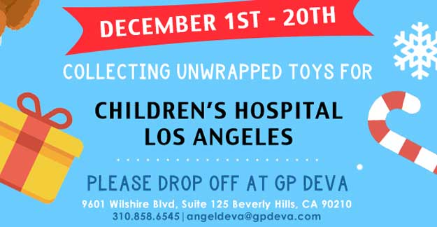 GP DEVA Annual Toy Drive