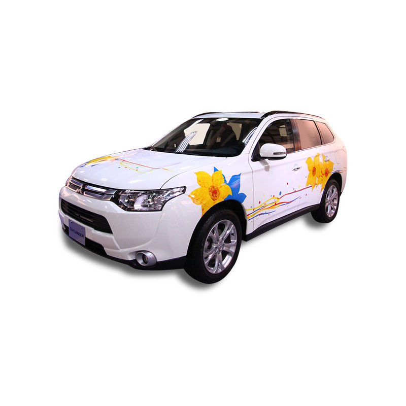 Chinese art painted car, the Outlander RV