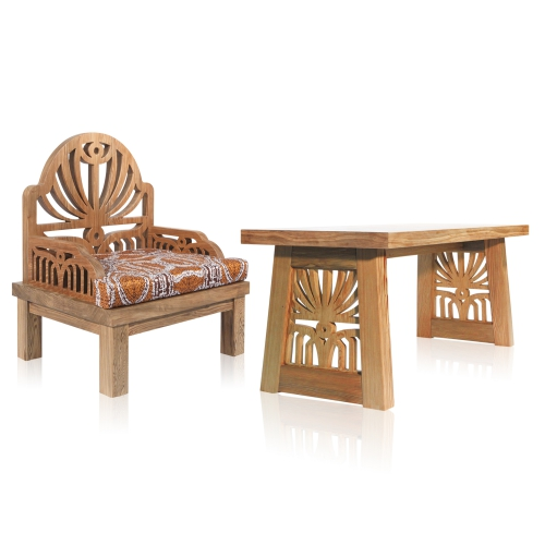 Take a Seat Series / Unison of the Couple in Love Furniture Set